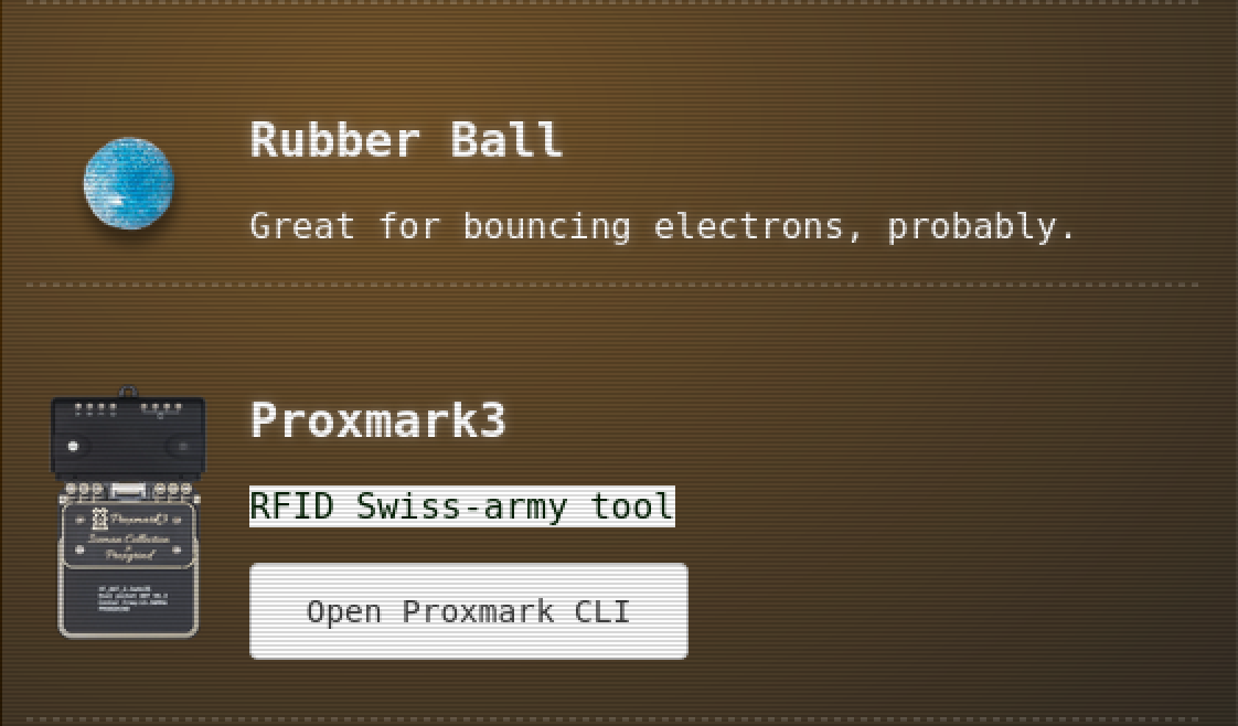 Proxmark and Rubber Ball