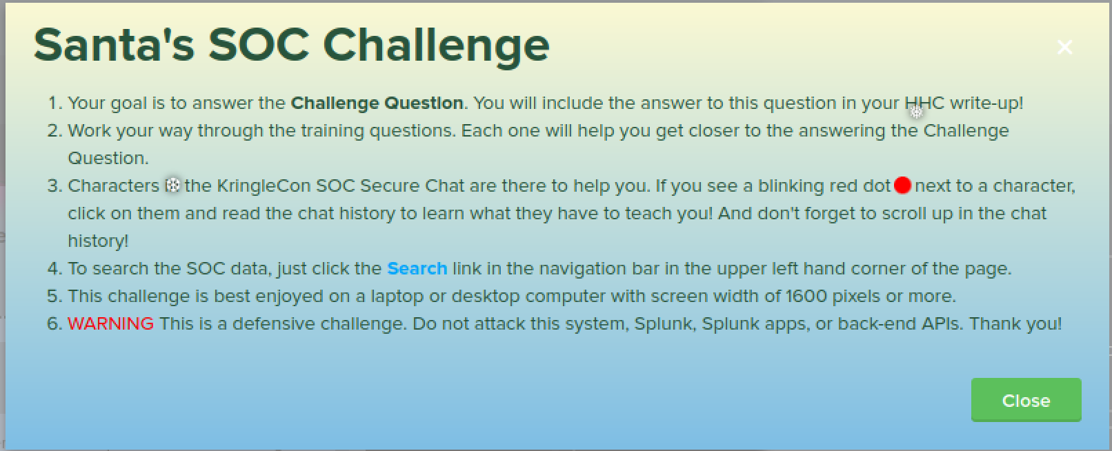 Santa SOC Challenge